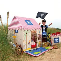 Pirate Tent Collection - Pirate Wendy House for Children | Canvas & Willow | Canvas & Willow
