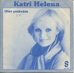 """Katri Helena - """"Johnny Blue"""", finish version of the german entry for the Eurovision Song Contest 1981 by Lena Valaitis"""