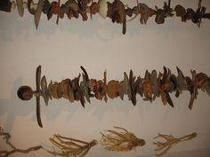 Deko zum Aufhängen. alle Teile stammen aus Afrika und sind unverwüstlich.