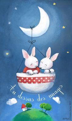 Le lapin dans la lune - Non dairy Diary - One week!