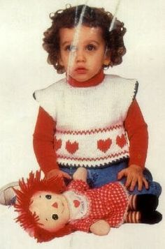 Free Knitting Pattern - Toddler & Children's Clothes: Toddlers Sweater Vest