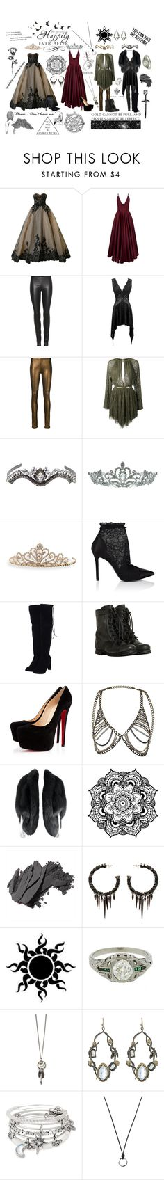 """""""The Darkness in the Light"""" by tymartz1424 ❤ liked on Polyvore featuring Mikael D, La Mania, The Row, Mes Demoiselles..., Jay Ahr, Emanuele Bicocchi, Kate Marie, BillyTheTree, Stella Luna and AllSaints"""