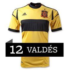 Victor Valdés de la Selección Española Eurocopa 2012 Camiseta futbol [867] - €16.87 : Camisetas de futbol baratas online!