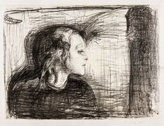 Discover art by Van Gogh, Picasso, Warhol & more in the Art Institute's collection spanning years of creativity. Edvard Munch, Couple Illustration, Sick Kids, Drawing Artist, Classic Image, Art Institute Of Chicago, New Print, Free Illustrations, Children