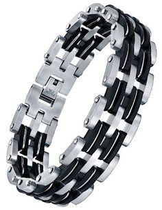 Ai Stainless Steel Jewelry – Pulsera con adorno hecho con acero inoxidable para hombre  ¿Te ha gustado? Visita http://todohalloween.ovh/tienda/ai-stainless-steel-jewelry-pulsera-con-adorno-hecho-con-acero-inoxidable-para-hombre-4/