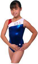 NEW!! Bravo USA Gymnastics Leotard by Snowflake Designs