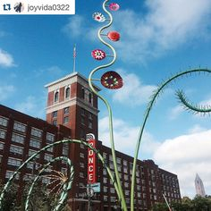 """""""We're loving the new @atlantabeltline art! Perfect day to get out and explore.  #LaborDay #ATL #poncecitymarket #myPCM #BeltLine #sculpture  #Repost…"""""""
