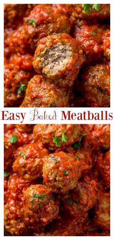 Meatballs Recipe Video, Beef Meatball Recipe, Easy Baked Meatballs, Meatballs With Cheese, Meatballs In Oven, Healthy Beef Meatballs, Best Baked Meatball Recipe, Cooking Meatballs, Gourmet