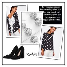"""""""Romwe 4/12"""" by dilruha ❤ liked on Polyvore"""