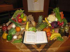 Thanksgiving Altar, 2010, St. Timothy United Methodist Church, Brevard, NC