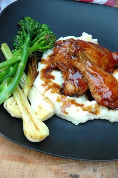 Sticky Chicken – only 3 ingredients, I promise!