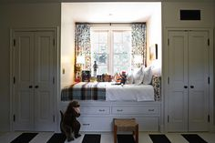 Window seat bed