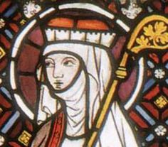 St. Gertrude, c. 1280, Westfalisches Landesmuseum, Cologne, Germany 13cHairAndHats - Eme's Compendium