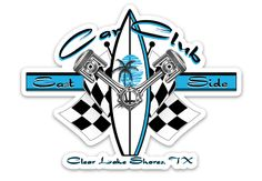 A must have for any East Side resident living in Clear Lake Shores, Texas. Display your pride during water wars and on your golf cart. Let everyone know your proud to be an East Sider with this Tool Box Quality Artwork. Clear Lake, Sidecar, East Side, Golf Carts, Tool Box, Custom Stickers, Pride, Decals, Kicks