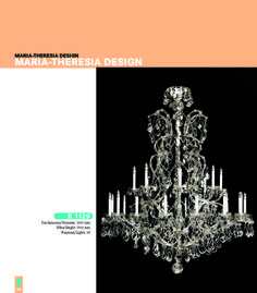 Maria Theresia Design Finest Chandeliers - 64