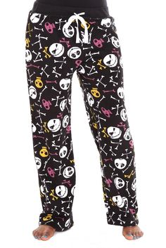 Nightmare before Christmas clothes | the nightmare before christmas jack fleece lounge pants the nightmare