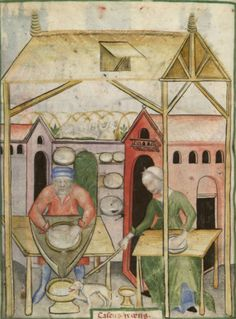 The Tacuinum Sanitas , Late 14th century This link/site has a lot of good images from this book