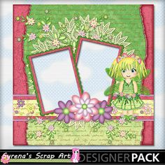 Fairy Bell Quick Page digita #scrapbooking http://www.mymemories.com/store/display_product_page?id=SESA-QP-1407-64165&r=syrenasscrapart