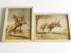 Vintage Nabisco Straight Arrow Prints Rare by TazamarazVintage