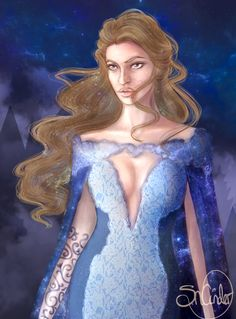 High Lady Feyre Archeron by SNCinder. ACOMAF ACOWAR Sarah J Maas