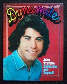John Travolta - Dynamite Magazine [United States] (April 1977)