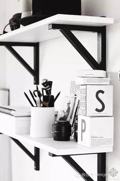 Here we showcase a a collection of perfectly minimal interior design examples for you to use as inspiration. Check out the previous post in the series: 30 Workspace Inspiration, Decoration Inspiration, Interior Inspiration, Decor Ideas, Study Inspiration, Inspiration Boards, Creative Inspiration, Black And White Office, Black And White Interior