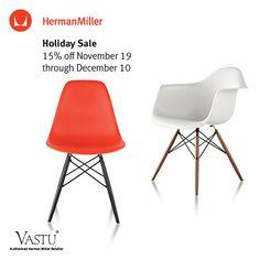 Herman Miller Holiday Sale - November 19th through December 10 @ Vastu