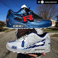 Paul Walker Tribute Custom Nike Air Max By Kenneth Cole Customs Nike Air Max 90s, Fast And Furious, Air Max Day 2017, Pokemon Watch, Paul Walker Tribute, Air Max Sneakers, Sneakers Nike, Thing 1, Behind The Scenes