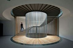 Ideas Spiral Stairs Architecture Modern For 2019 Escalier Art, Escalier Design, Architecture Design, Stairs Architecture, Drawing Architecture, Museum Architecture, Chinese Architecture, Futuristic Architecture, Beautiful Architecture