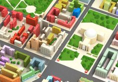 Map Novosibirsk city on Behance