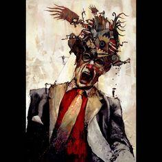 Kinetic Machine Cranium Portraits : Bruce Holwerda
