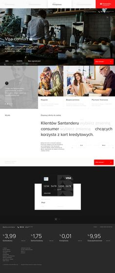 Santader Project. on Behance