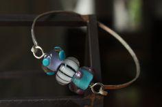 Bangle Bracelet in Blues