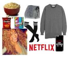 """""""Cuddling alone"""" by xkayx5sos ❤ liked on Polyvore featuring Jil Sander and Casetify"""