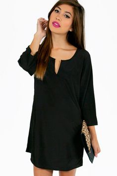 V Mine Shift Dress $42 at www.tobi.com