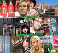 They all make me so happy! Shane Dawson Tv, I Got This, My Love, Smosh, Pewdiepie, Youtubers, Fangirl, Haha, Marbles