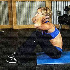 Guía de ejercicios para abdominales