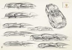 Vasiliy Kourkoff Jr.`s Sketch Blog: Cisitalia 202' 0 project some sketches