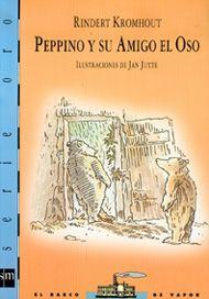 +6 Peppino y su amigo el oso. Un oso que en realidad no es un oso sino Peppino disfrazado de oso. Peppino es huérfano y trabaja en el circo pero no es feliz y decide irse. Oculto en un refugio vive como un oso. Un día encuentra a un amigo con el que comparte no sólo su apariencia de oso, sino también su soledad y la necesidad de cariño. El humor suaviza el conflicto interior del protagonista de este relato de aventuras y emociones dirigido a primeros lectores.