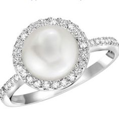 There is something about diamonds and pearls that just goes together!