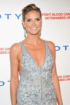 Heidi Klum in Temperley London