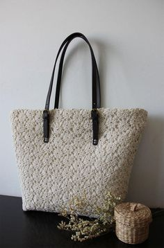 Handmade Shabby Chic Cotton Wedding Bag, Lace Bag, Lace Tote, Vintage Style, Ivory/Off White, Make to Order, L034