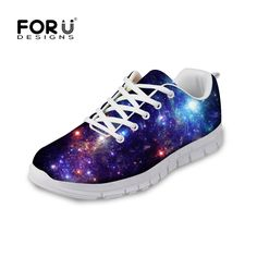 (27.19$)  Watch more here  - FORUDESIGNS 3D Galaxy Universe Star Printed Men Shoes Breathable Flat Shoes for Male Casual Men Flat Walking Shoes Plus Size
