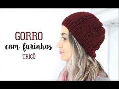 GORRO ADULTO COM PONTO FANTASIA   TRICÔ - YouTube