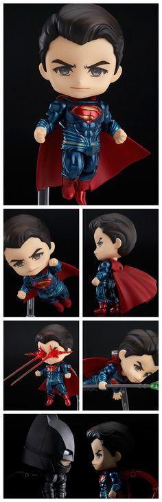 Figurine Nendoroid Superman Justice Edition http://www.geekilaz.com/figurine-nendoroid-superman-justice-edition/