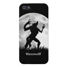 Werewolf at the Full Moon - Cool Halloween iPhone 5 Covers