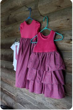 Girls Dress Sewing Tutorial {Sewing for Kids: Sibling Outfits}