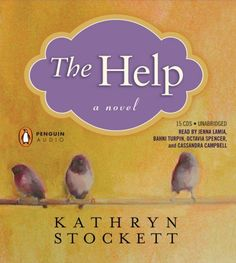 """READ // The Help by Kathryn Stockett for a """"book your mother loves"""". Loved both the book and the movie. Listened on audible, excellent narrators made this a must read book! I Love Books, Good Books, Books To Read, My Books, Free Books, The Help Book, The Book, I Love Reading, Reading Lists"""