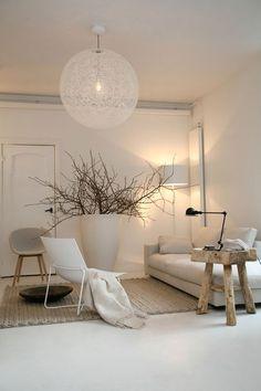 Inspiration déco du samedi avec ce salon scandinave confortable!