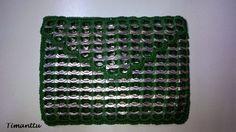 Metsänvihreää klipsuista Pop Tab Crafts, Can Tabs, Chainmaille, Crafty, Gifts, Diy, Blankets, Pop Tabs, Recycling